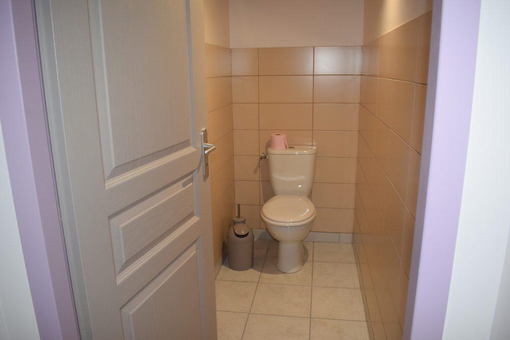 WC séparé du gîte